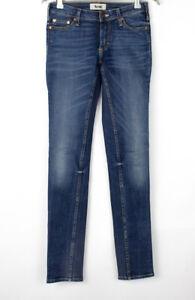 ACNE Women Kex/Fresh Slim Skinny Stretch Jeans Size W27 L32