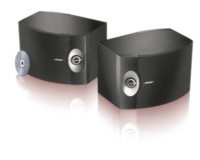 BOSE 301 Series V Direct/Reflecting Bookshelf Speaker System (black)