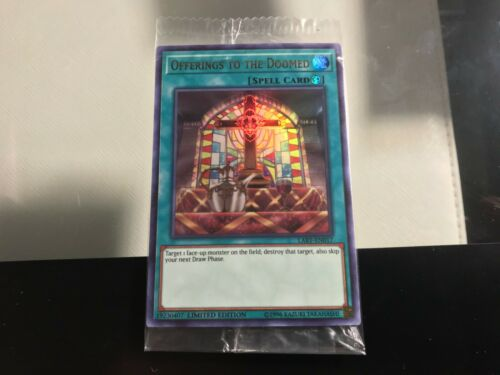 Yugioh Offerings to the Doomed LART-EN017 Limited Ultra Rare Near Mint Fast Ship