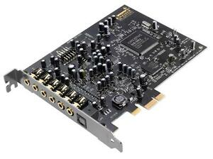 N-Creative-Sound-Blaster-Audigy-RX-SB1550-7-1-Sound-Card-w-Headphone-Amp