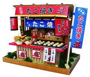 Doll House Handmade kit Japanese Retro Series Eel Restaurant Billy Japan