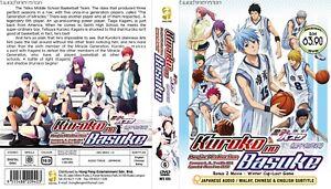 ANIME-DVD-Kuroko-No-Basuke-Season-1-3-1-78End-2-Movie-Eng-sub-FREE-CD