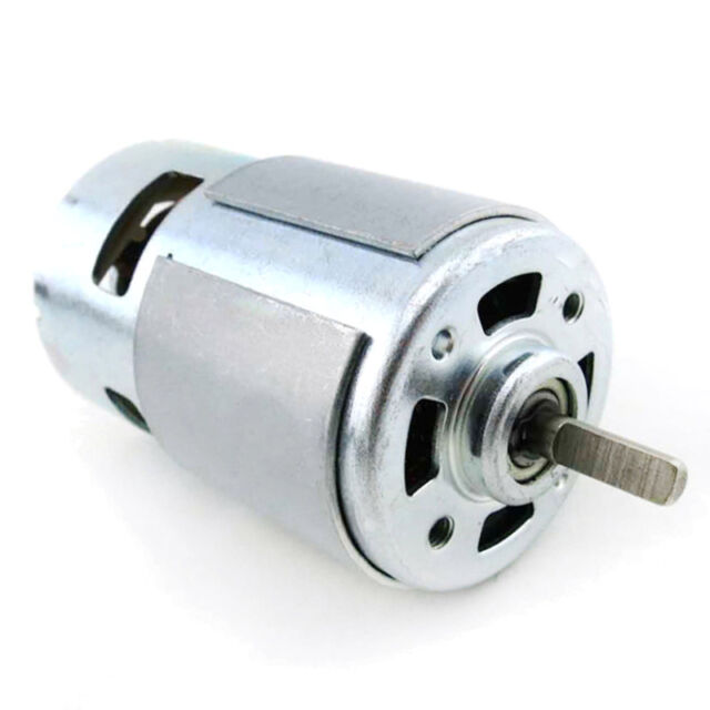 775 Motor Oblate D Style Axle DC 12V Mini Generator DIY High Torque/&Bearing Gear