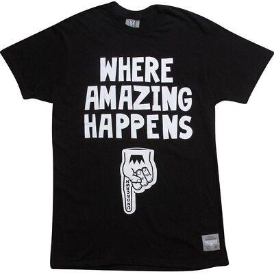 Activewear Undrcrwn Where Amazing Happens Men's Black T Shirt 60110blkwh Modern Techniques