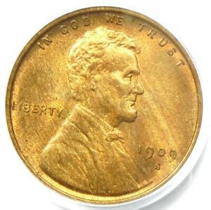 1909-S-VDB-Lincoln-Wheat-Cent-Penny-1C-PCGS-MS64-RB-BU-UNC-Rare-Key-Date