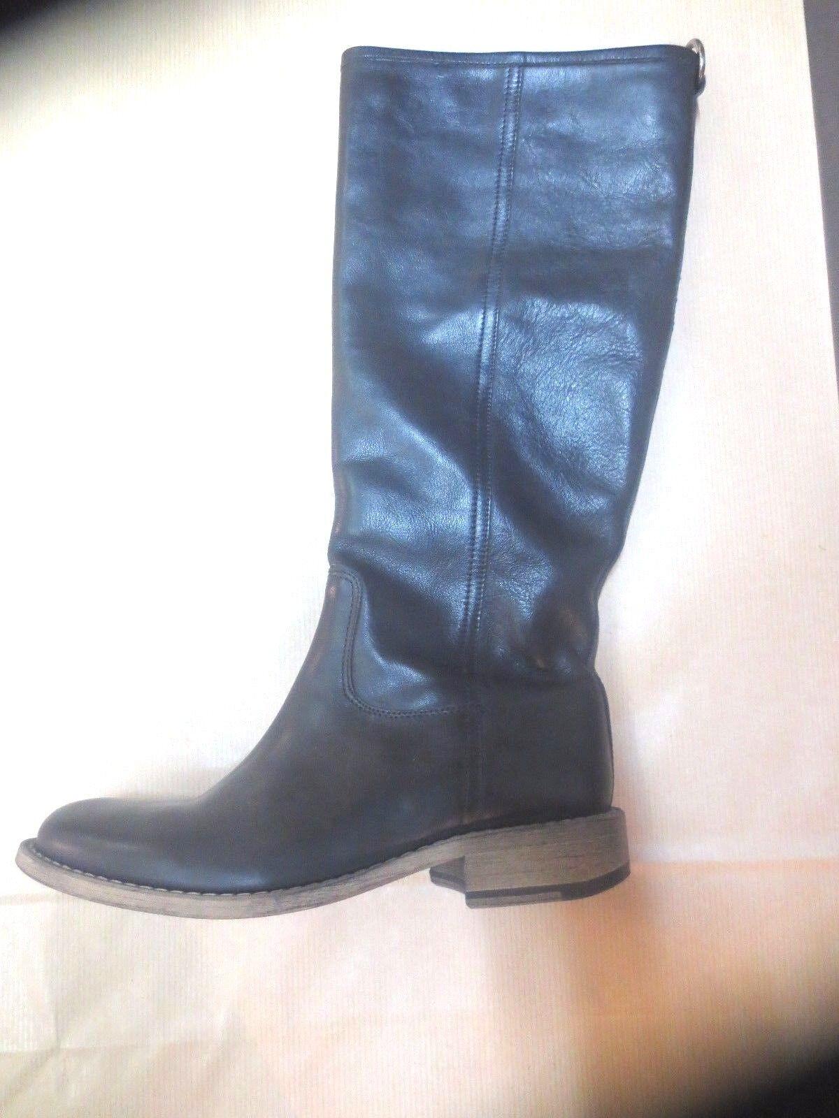 Stivali Minka design pelle nera nera nera NUOVE Valore 189E Dimensioni 36, 38 a475ca