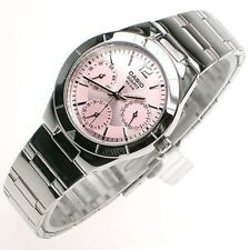 Casio LTP2069D-4A Women's Fashion Easy To Read Battery Stainless Steel Watch