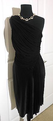 JCREW 769 Madison Avenue Collection Silk Dress 8 Black 33167 Cocktail/Party