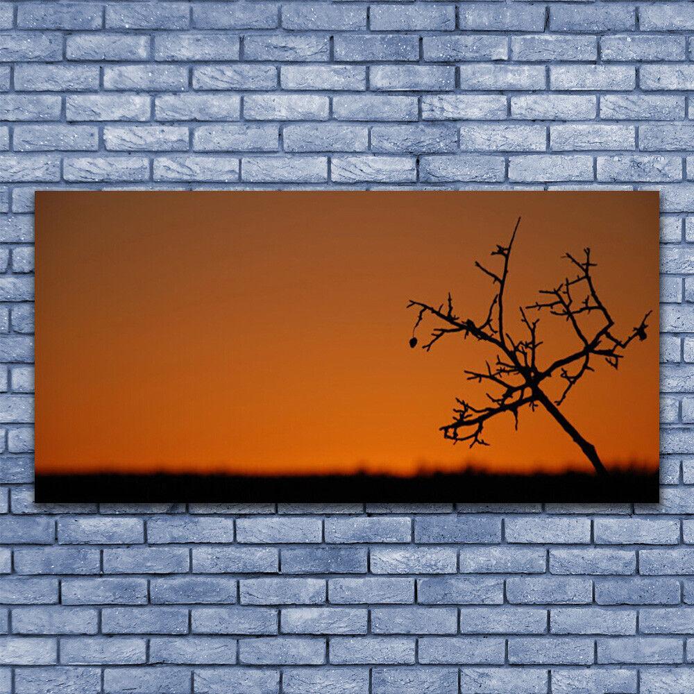 Leinwand-Bilder Wandbild Leinwandbild 140x70 Baum Kunst