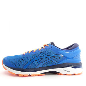 Details about Asics GEL Kayano 24 [T749N 4358] Men Running Shoes BlueOrange
