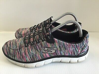 George Eliot Abrumador impermeable  Skechers Multicolor Womens Slip On Yoga Fitnesss Relaxed Fit Sz 9.5 Sn  12414 | eBay