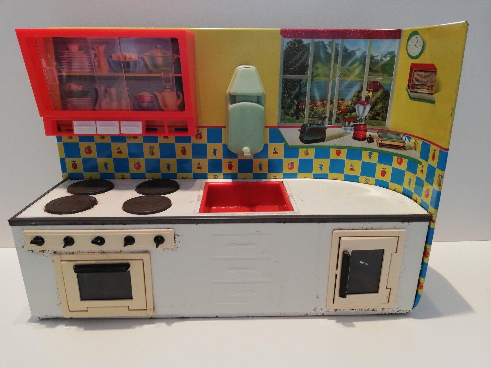 Cucina in latta Martin Fuchs giocattolo vintage