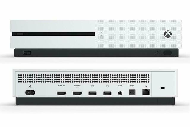 Microsoft Xbox One S 500gb Console - White