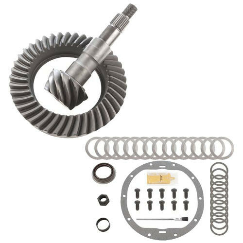 GM 8.6 10 BOLT 4.56 RING AND PINION /& INSTALLATION KIT 99-08