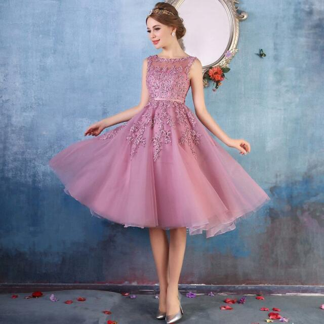 Short Lace Formal Prom Dresses Evening Homecoming Party Cocktail ...