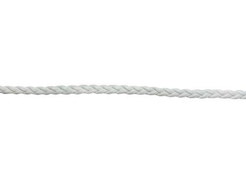 3 mètres de cordon tressé en simili cuir couleur blanc,perles,fimo