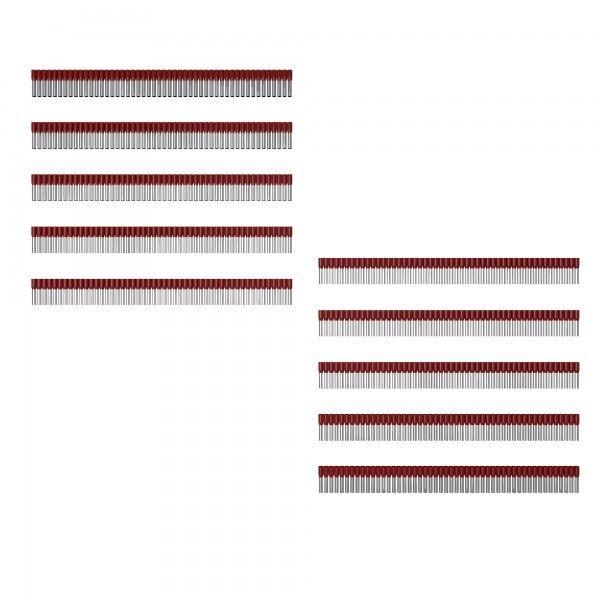 500Stk. Aderendhülsen m.Kunststoffkragen H1,5/14 rot 9004340000 Weidmüller 0723