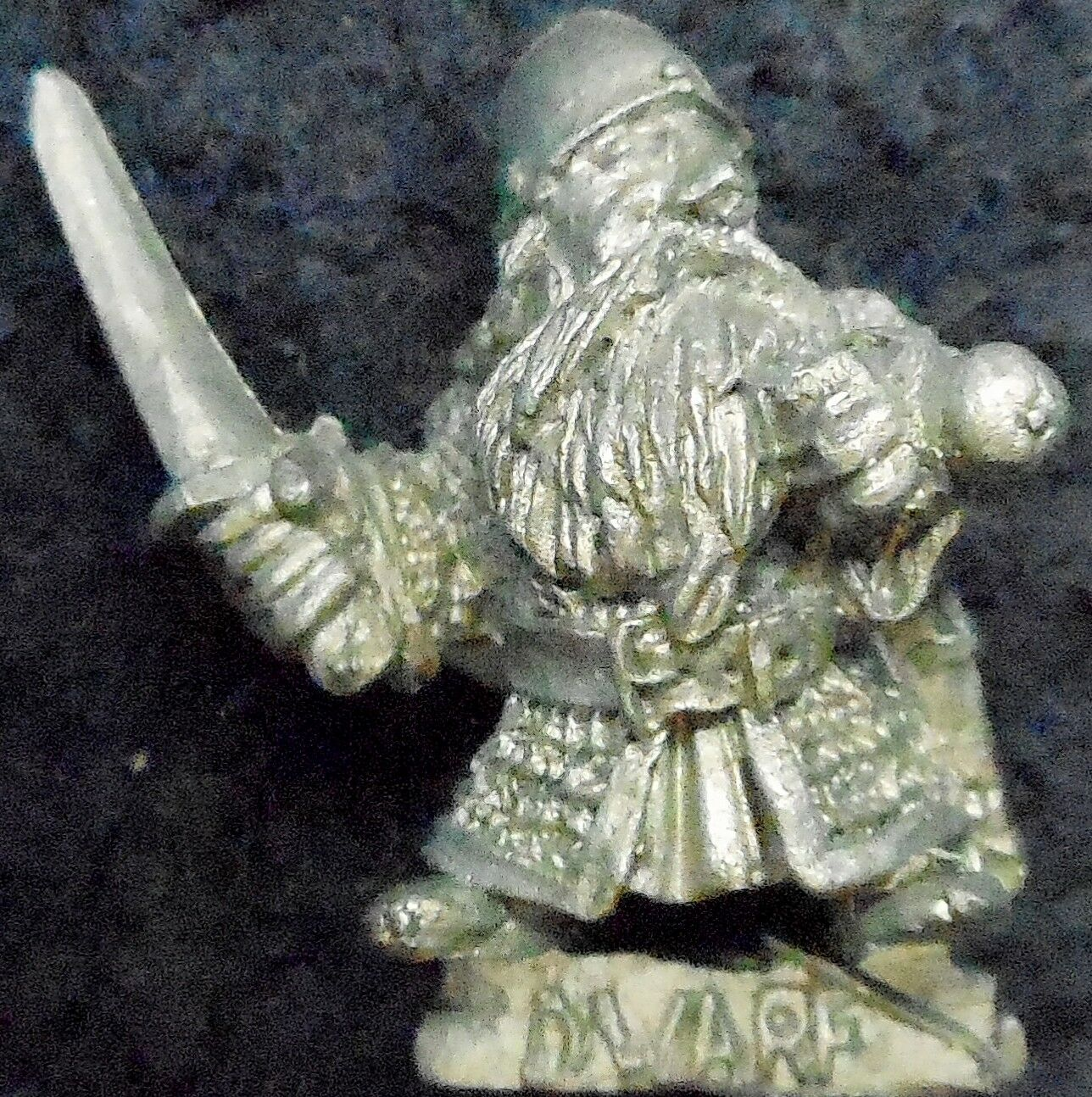 1985 Dwarf ME33 Alternative Sword 4 Lord of the Rings Variant Citadel AD&D LOTR