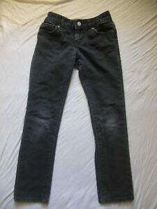 2286b3861407 OLD NAVY Girls JEANS black size 8 Skinny Adjustable waist | eBay