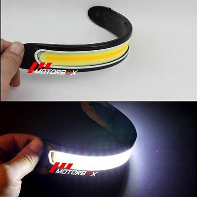 Waterproof Pair 12V LED COB Car DRL Fog Driving Daytime Running Lamp Offroad 4WD