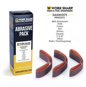 Work Sharp P220 Grit Abrasive Pack Ken Onion Blade Grinding Attachment SA0003571