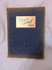 New Jersey State Teachers College at Trenton 1941 Yearbook The Seal NJ Vintage