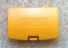 Cache Pile Jaune Dandelion - NEUF - Game Boy Color - Gameboy GBC - Battery Cover