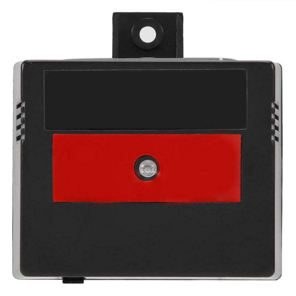Solar Powered Animal Repeller LED Red light for Cats Foxes Skunks Raccoons HS