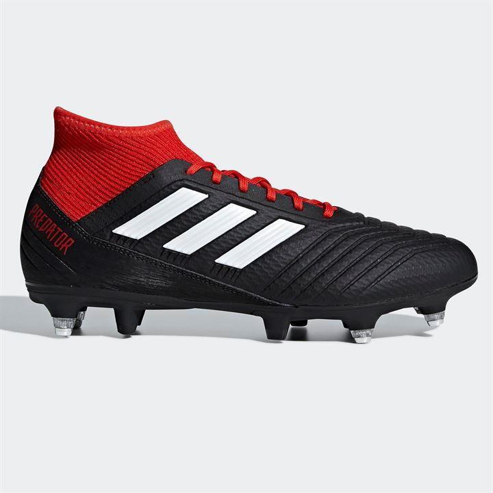 Adidas predator 18.3 Mens SG Football Boots UK 9 US 9.5 EUR 43.1 3 REF 3397