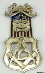 Jr-Order-United-American-Mechanics-Council-Medal-Sterling-Silver-jr-OUAM