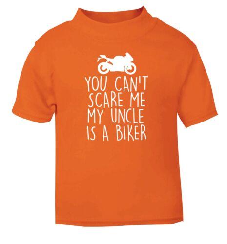 Meu Tio É Um Ciclista bebê//criança T-shirt sobrinha Sobrinho Gasolina Cabeça Biker 4794