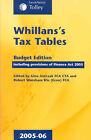 Whillans's Tax Tables: 2005-06: Budget Edition by Robert Wareham, Gina Antczak (Paperback, 2005)
