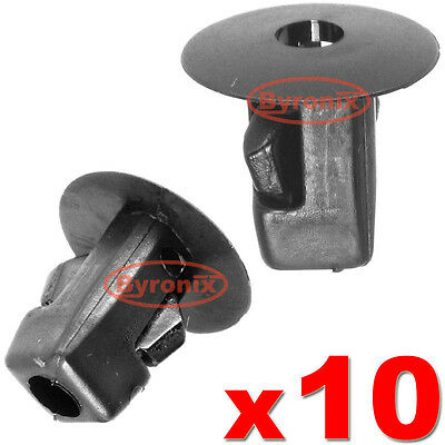 10x WHEEL ARCH TRIM Rivet Clips Pour BMW E46 E90 E91 E92 Doublure Intérieure Anti-éclaboussures