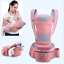 Ergonomic-Infant-Baby-Carrier-With-Hip-Seat-Stool-Adjustable-Wrap-Sling-Backpack thumbnail 16
