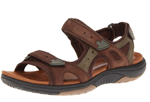 ROCKPORT-Womens-Fiona-Sandals-Size-6-Wide-BROWN