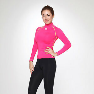 Mowave woman basic rash guard surfing shirts swim athletic for Wearing t shirt in swimming pool