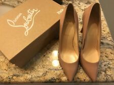 a2fc9a71619 Christian Louboutin Sova Heel 100mm Nude Patent Sandals for sale ...