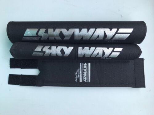 Skyway Bmx Pad Set V Oldschool REPOP Kuwahara Blk//Chrome PK Ripper Tange