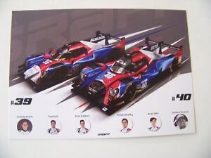 CARD-EUROPEAN-LE-MANS-SERIES-SPA-2017-GRAFF-ORECA-39-amp-40