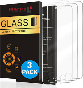 3-PACK-For-iPhone-12-11-Pro-Max-XR-X-XS-Max-8-7-Tempered-GLASS-Screen-Protector