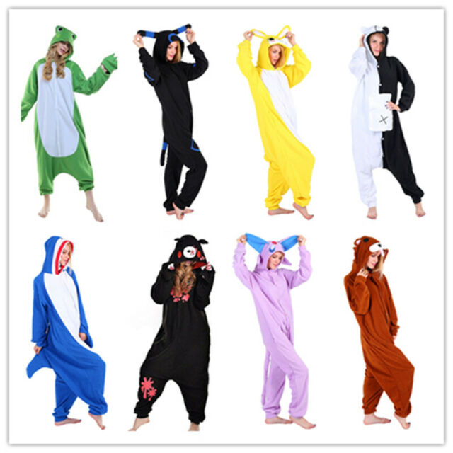 Animal Onesie0 Adult Gloomy Bear Cosplay Costume Unisex One Piece Pajamas