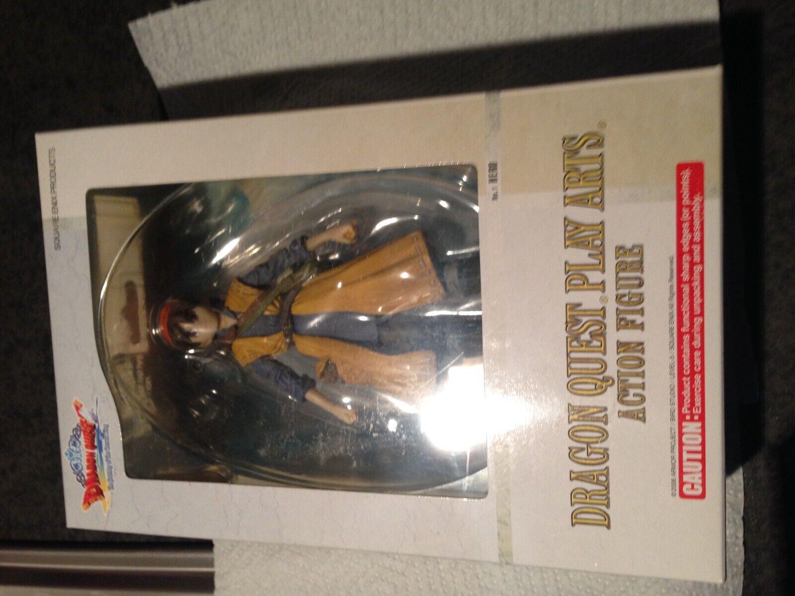 Dragon Quest Play Arts No1 Hero Figure BNIB sealed.