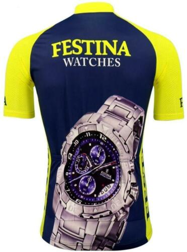 Brand New Team Festina Watches Cycling Jersey