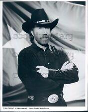 1993 Actor Chuck Norris in Walker Texas Ranger TV Show Press Photo