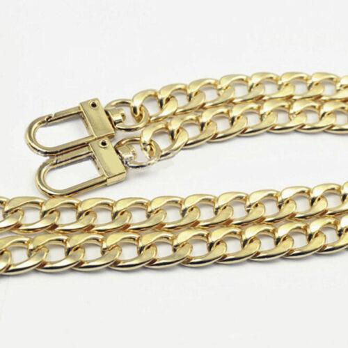 1PCS Silver Gold Metal Chain Bag Belt Strap Replacement for Handle Bag Shoulder