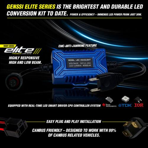 Genssi LED Headlight Headlamp Bulb Kit for Mack RD CH SFA MACK CH600