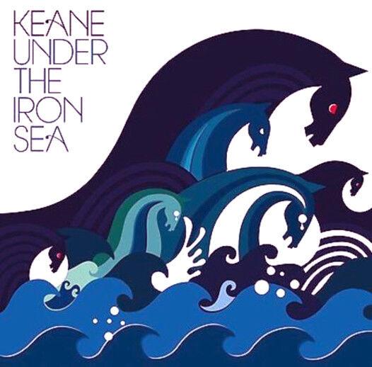 KEANE UNDER THE IRON SEA CD Album MINT/MINT/MINT