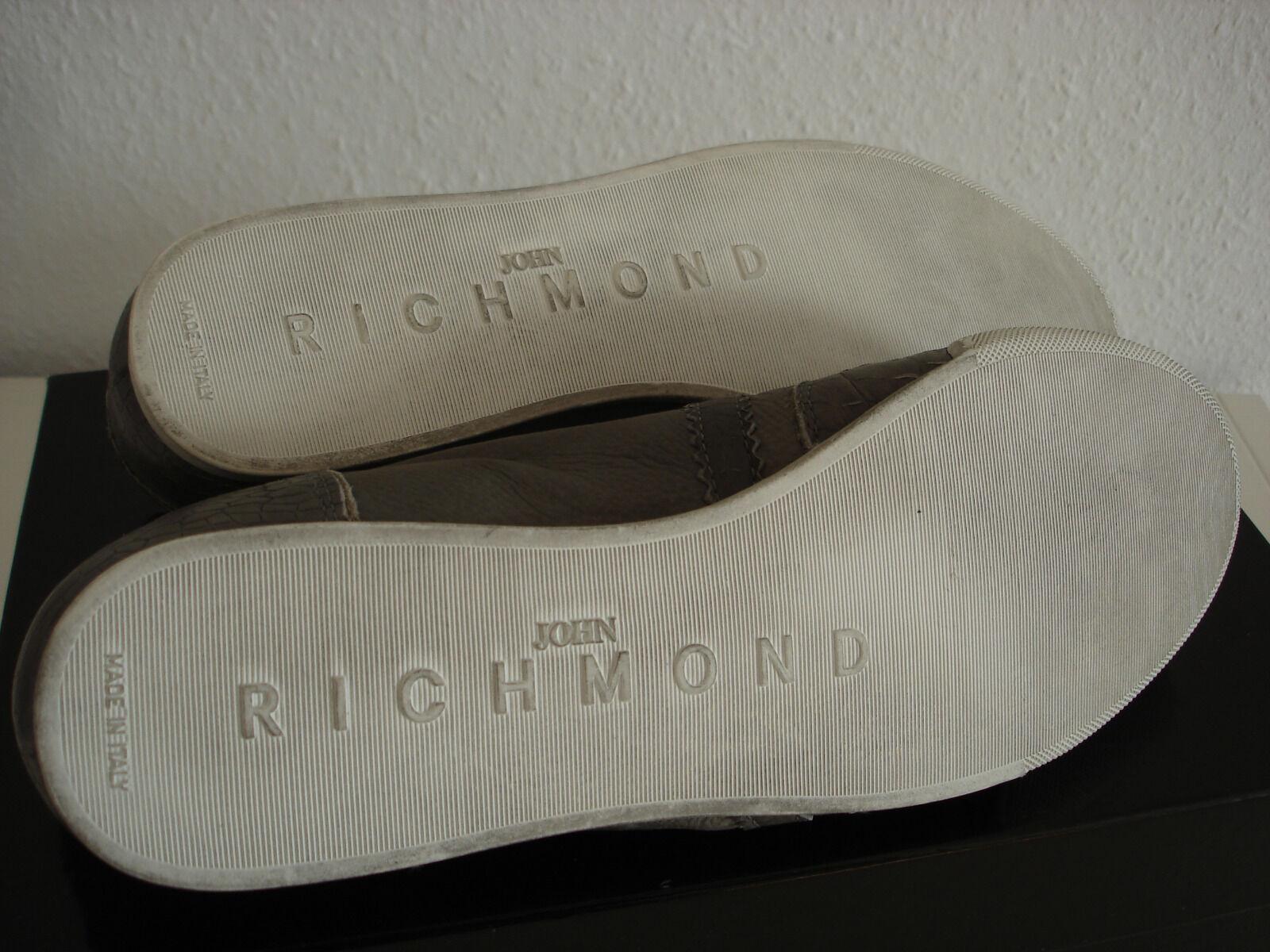 John Richmond Sneaker Herren Größe 41 41 41 Leder Neu d30c01