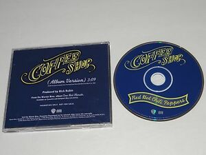 RED-HOT-CHILI-PEPPERS-Coffee-Shop-RARE-U-S-Radio-DJ-PROMO-CD-Single-RHCP-1995