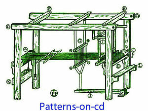 How To Build Floor Loom Plans Amp